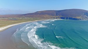 Keel Beach Achill in County Mayo