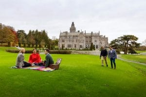 Au Pair near Limerick kids aged 10 plus - Picnic in front of the Adare Manor